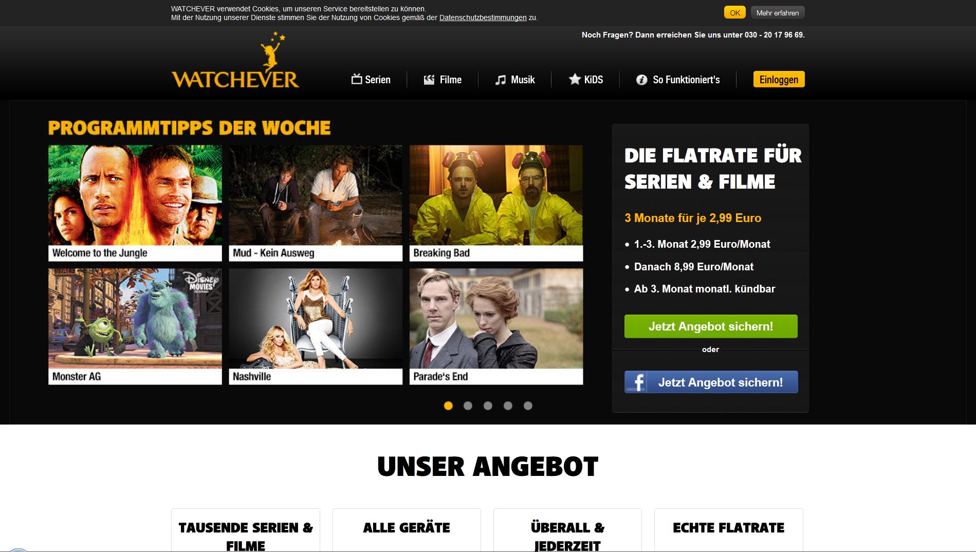 FireShot Screen Capture #004 - 'WATCHEVER - grenzenlos Serien und Filme online ansehen' - www_watchever_de